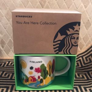 STARBUCKS Finland You Are Here Collection Finland